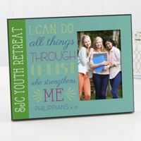 """I Can Do All Things"" Picture Frame"