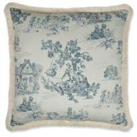 Austin Horn Classics Cosmopolitan Reversible European Pillow Sham in Blue