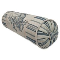 Austin Horn Classics Cosmopolitan Neck Roll Pillow in Blue