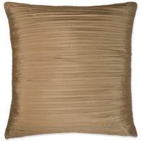 Austin Horn Classics Paradise Peacock European Pillow Sham in Brown/Coral