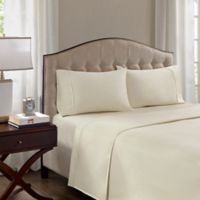 Madison Park 1500-Thread-Count King Pillowcase in Ivory