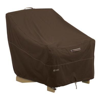 Superbe Classic Accessories® Madrona RainProof Adirondack Chair Cover In Dark Cocoa