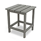 POLYWOOD® Long Island 18-Inch Side Table in Slate Grey