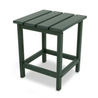 POLYWOOD® Long Island 18-Inch Side Table in Green