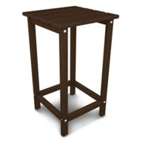 POLYWOOD® Long Island 26-Inch Counter Side Table in Mahogany