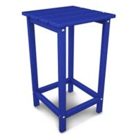 POLYWOOD® Long Island 26-Inch Counter Side Table in Pacific Blue