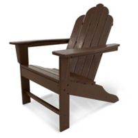 POLYWOOD® Long Island Adirondack Chair in Mahogany