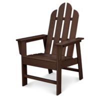 POLYWOOD® Long Island Dining Chair in Mahogany