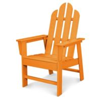 POLYWOOD® Long Island Dining Chair in Tangerine