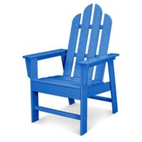 POLYWOOD® Long Island Dining Chair in Pacific Blue