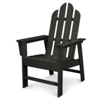 POLYWOOD® Long Island Dining Chair in Black