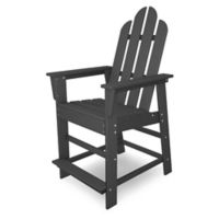 POLYWOOD® Long Island Counter Chair in Slate Grey