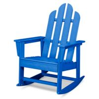 POLYWOOD® Long Island Rocker in Pacific Blue
