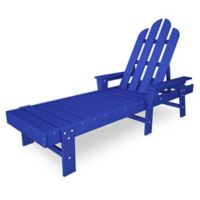 POLYWOOD® Long Island Chaise Lounge in Pacific Blue