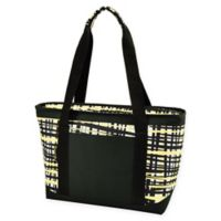 Picnic At Ascot™ Eco Large Insulated Cooler Tote in Black/Yellow