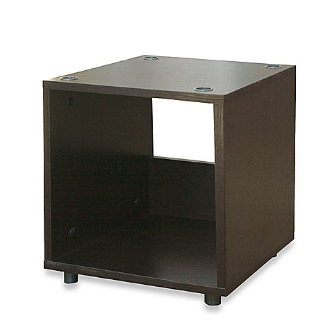 Small stacker storage unit table bed bath beyond - Small storage table for bathroom ...
