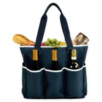 Picnic at Ascot Extra Large Multi-Pocket Cooler Travel Bag in Navy