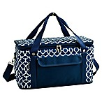 Picnic At Ascot 24- Quart Cooler in Blue/White