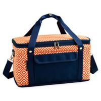 Picnic At Ascot 24- Quart Cooler in Orange/Navy