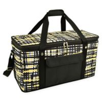 Picnic At Ascot 24- Quart Cooler in Black/Yellow