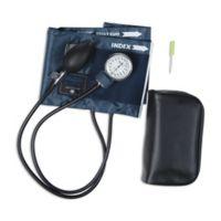Mabis Caliber Aneroid Sphygmomanometer Blood Pressure Cuff in Blue