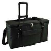 Picnic At Ascot 36 -Quart Trunk Cooler in Black with Wheels