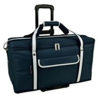 Picnic At Ascot 36 -Quart Trunk Cooler in Navy with Wheels