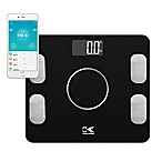 Kalorik Electronic Body Fat Scale with Body Analysis in Black