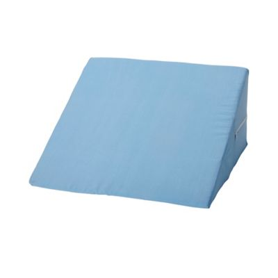 orthopedic medical bamboo leg blue foam pillow deluxe bed x comfort ip grade wedge