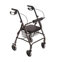 DMI Freedom Ultra Light Rollator in Titanium