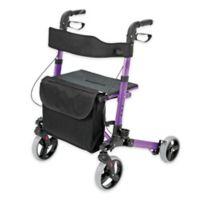 HealthSmart Euro Style Rollator in Purple