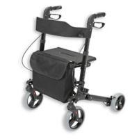 HealthSmart Euro Style Rollator in Black