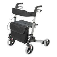 HealthSmart Euro Style Rollator in Titanium