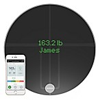 Qardio QardioBase 2 Smart Scale Body Analyzer in Volcanic Black