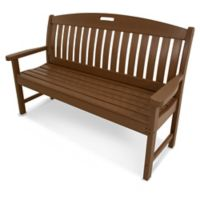 POLYWOOD® Nautical 60-Inch Bench in Teak