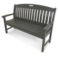 POLYWOOD® Nautical 60-Inch Bench in Slate Grey