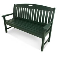 POLYWOOD® Nautical 60-Inch Bench in Green
