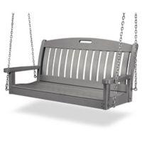 POLYWOOD® Nautical Swing in Slate Grey
