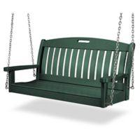 POLYWOOD® Nautical Swing in Green