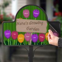 Grandma's Garden Magnetic Garden Sign