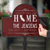 State of Love Magnetic Garden Sign