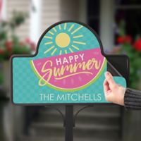 Simply Summer Magnetic Garden Sign