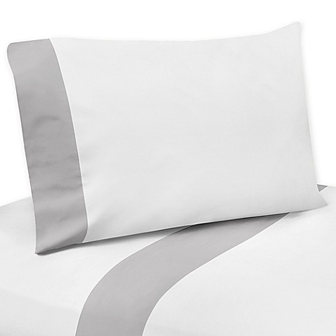 Sweet Jojo Designs Woodsy Sheet Set In Grey White Buybuy