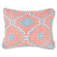 Levtex Home Flamingo Bay King Pillow Sham in Pink/Blue