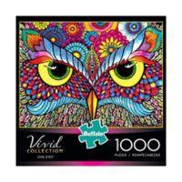 Buffalo Games™ 1000-Piece Vivid Collection Owl Eyes Puzzle