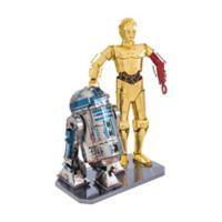 Fascinations Metal Earth® Star Wars™ C-3PO and R2-D2 3D Metal Model Kit