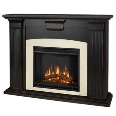 "Buy ""Black Electric Fireplace"" products like Northwest Curved Glass Electric Fireplace Heater in Black"