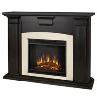 Real Flame® Adelaide Electric Fireplace in Black