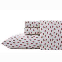 Poppy & Fritz Watermelon Queen Sheet Set in Medium Pink