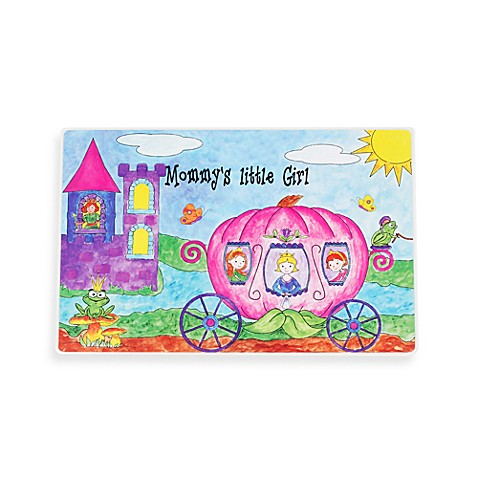 Swibco® Mommy's Little Girl Princesses Placemat